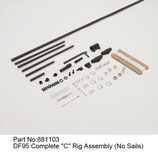 881103 Kit C completo (senza vele) - Kit C complete (no sails)