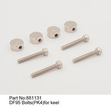 881131 Bulloni per deriva (4pz) - Bolts for keel (4pz)