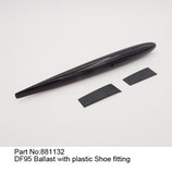 881132 Bulbo con accessori - Ballast with plastic shoe fitting