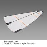 881106 Vela B 75 micron mylar - Sail B 75 micron mylar