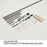 881102 Kit B completo (senza vele) - Kit B complete (no sails)