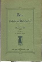 Bern im fünfzehnten Jahrhundert 1905