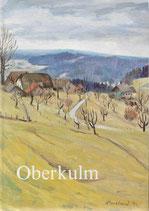 Geschichte von Oberkulm Kanton Aargau