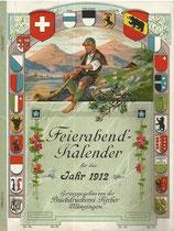 Berner Feierabend-Kalender für das Jahr 1912