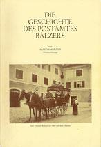 Die Geschichte des Postamtes Balzers