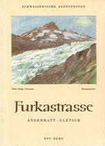 Furkastrasse Andermatt-Gletsch 1951
