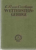 Wettersteingebirge 1927