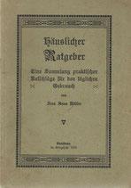 Häuslicher Ratgeber 1915