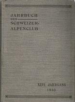 Jahrbuch des Schweizer Alpenclub 1910-1911