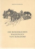 Die burgerlichen Waldungen von Burgdorf
