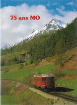 75 ans du Chemin de fer Martigny-Orsières 1910-1985