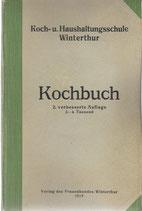 Kochbuch der Koch- und Haushaltungsschule Winterthur 1919