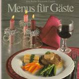 Menus für Gäste