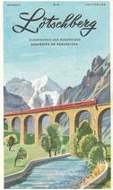 Lötschberg Exkursionen und Rundreisen 1957