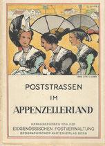 Poststrassen im Appenzellerland 1934