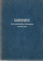 Kochlehrmittel des Kantons Zürich 1946 (BL)