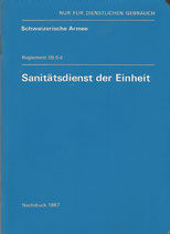 Sanitätsdienst der Einheit Reglement 59.6 d