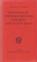 Historisch-topographisches Lexikon der Stadt Bern