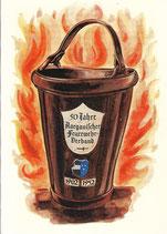 50 Jahre Aargauischer Feuerwehrverband 1902-1952