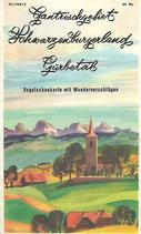 Gantrischgebiet Schwarzenburgerland Gürbetal ca.1939