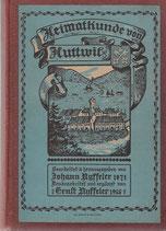 Heimatkunde von Huttwil 1915