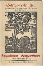 Sanggallerland - Sanggallerbruuch 1928