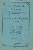 Zweisimmen - Gemmi 1914