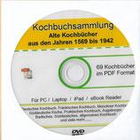 Die Große Kochbuchsammlung auf DVD  Rezepte aus dem 16. & 19. Jahrhundert