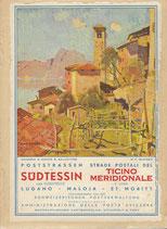 Poststrassen im Südtessin 1937