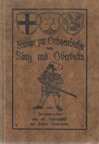 Beiträge zur Geschichte der Gemeinden Köniz und Oberbalm