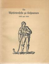 Die Alphirtenfeste zu Unspunnen 1805 und 1808