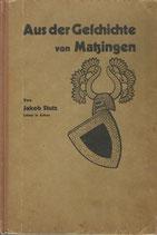 Aus der Geschichte von Matzingen 1930
