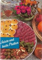 Salate und kalte Platten 1963