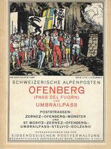 Ofenberg (Pass del Fuorn) und Umbrailpass 1936