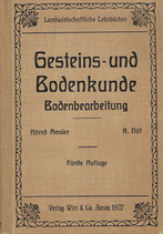 Gesteins- und Bodenkunde 1927