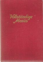 Vollständige Menüs 1948