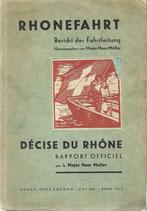 Rhonefahrt Bericht der Fahrtleitung 1933