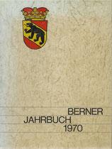 Berner Jahrbuch 1970 Baumeister im Alten Bern