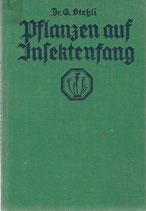 Pflanzen auf Insektenfang 1934