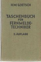 Taschenbuch für Fernmeldetechniker 1933