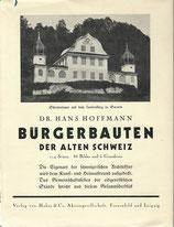 Bürgerbauten der alten Schweiz 1931