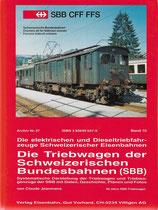 Die Triebwagen der Schweizerischen Bundesbahnen