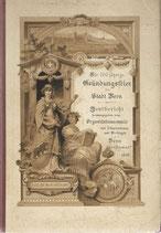 Die 700 jährige Gründungsfeier der Stadt Bern 1891