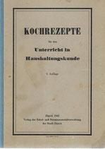 Kochrezepte 1942