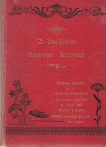Schweizer Kochbuch 1900