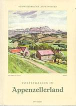 Poststrassen im Appenzellerland 1952