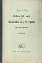 Kleines Lehrbuch der italienischen Sprache