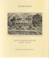 Bönigen alte Ansichten 1800-1939