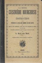 La bonne cuisinière bourgeoise 1886