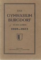 Das Gymnasium Burgdorf in den Jahren 1898-1923